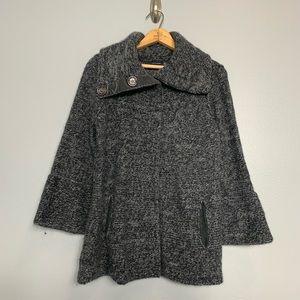 MAGASCHONI | cashmere blend shawl sweater small